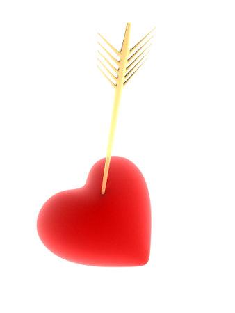 heartbreaker: Rojo coraz�n con flecha