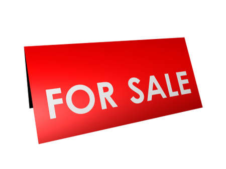 luggage pieces: sor sale sign Stock Photo