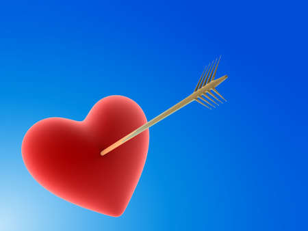 heartbreaker: heart with arrow