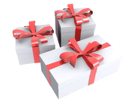 3d rendered gifts photo