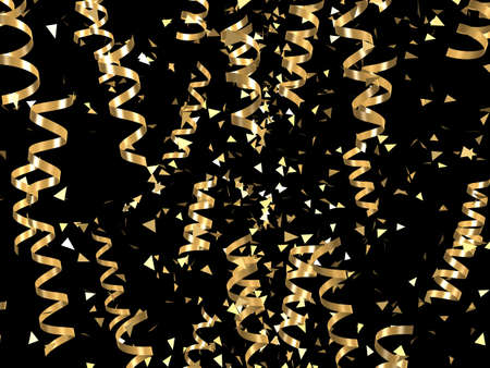 golden ribbons photo