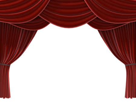 red curtain Stock Photo - 705509