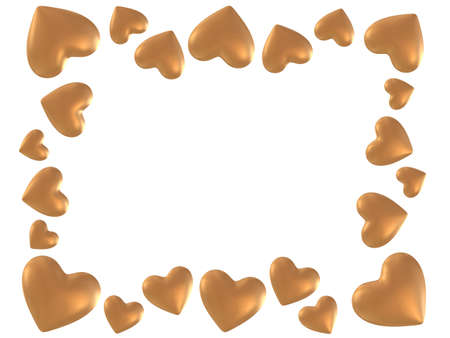 radiosity: golden hearts