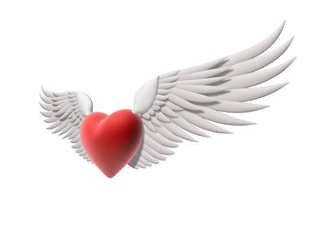 radiosity: flying heart