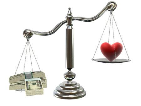 judgement: love or money