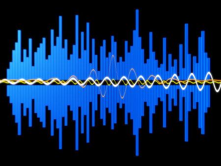 vibrations: music wave