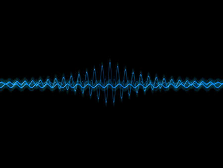 music waves Stock Photo - 824366
