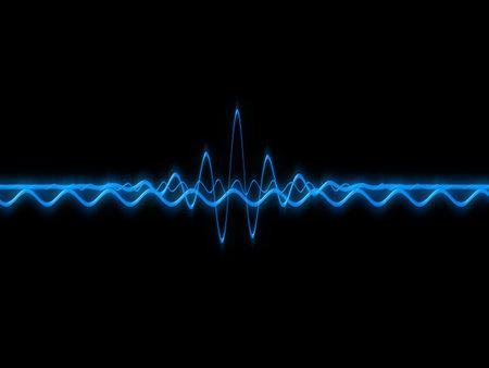 music waves Stock Photo - 824367