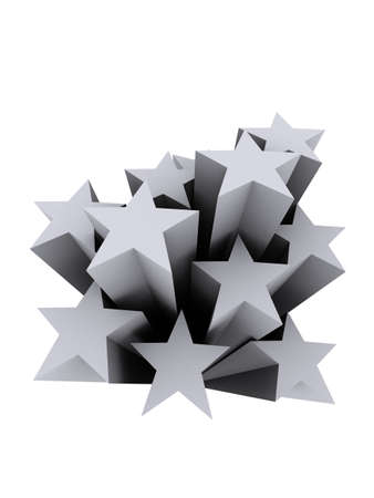 grey stars Stock fotó