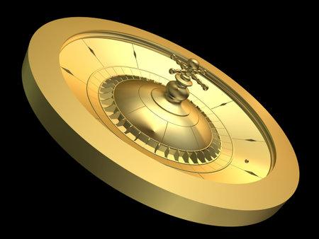 roulette wheel: golden roulette wheel
