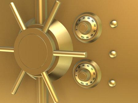 golden vault Stock Photo - 802249