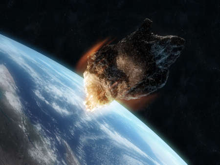 dangerouse asteroid photo