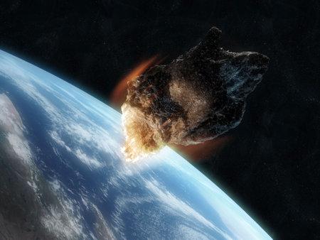 dangerouse asteroid photo