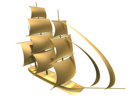golden ship photo