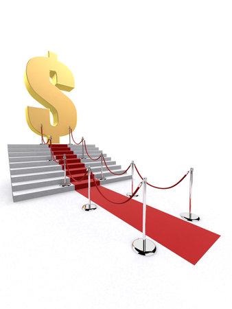 way to the money Stock Photo - 1016227