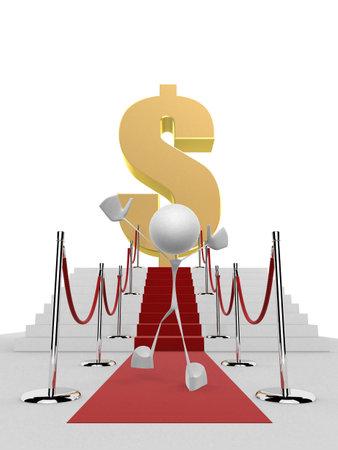 way to the money Stock Photo - 1015774