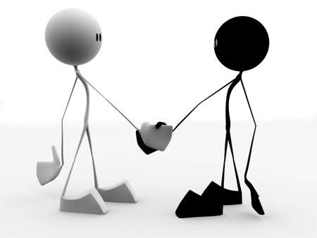 handclasp: shaking hands