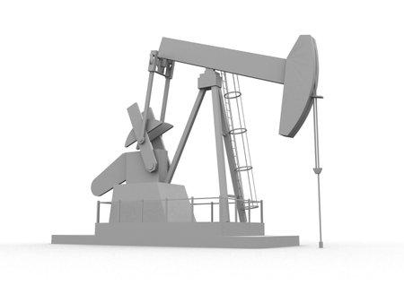 to refine: oil pump Stock Photo