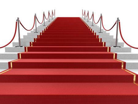 presti: czerwony dywan Zdjęcie Seryjne