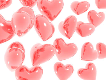 radiosity:  heart reflection