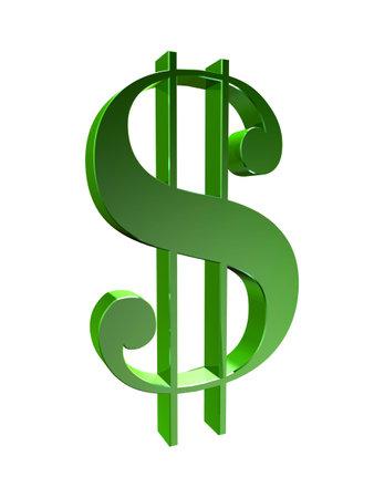 signos de pesos: verde signo de d�lar Foto de archivo