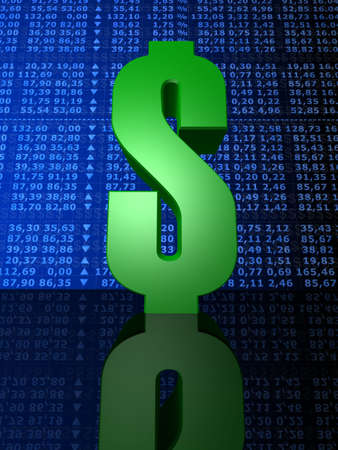 stock numbers Stock Photo - 1354724