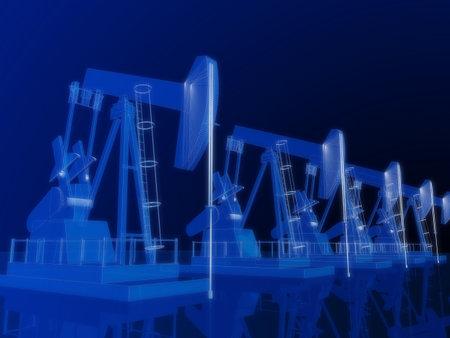 depletion: 3d oil pumps