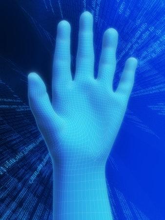 verifying: 3d hand