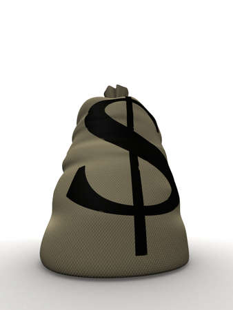 money sack Stock Photo - 1424510