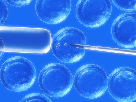 줄기: 세포 조작 스톡 사진