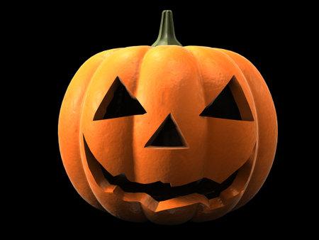 doorstep: halloween pumpkin
