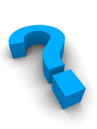 think tank: blue questionmark