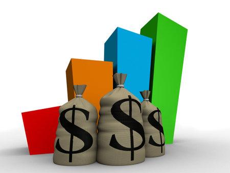 money statistic Stock Photo - 1797168