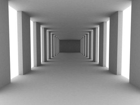 simple corridor Stock Photo - 2020799