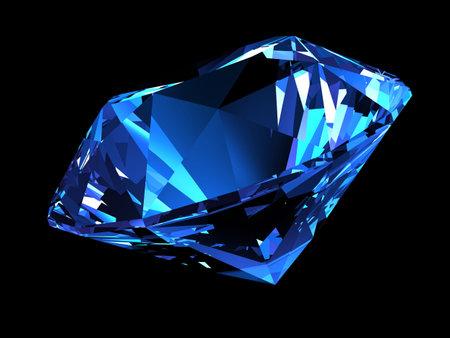 caustic: shiny diamond Stock Photo