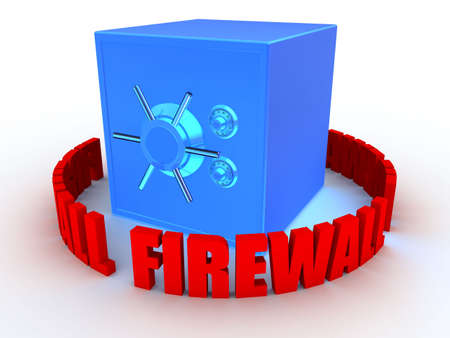 safe and firewall photo