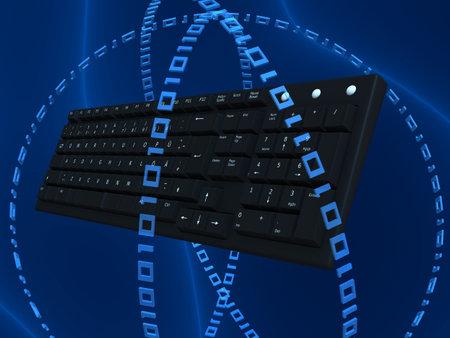 keyboard 3d Stock Photo - 2837949