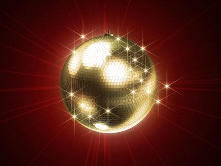 dancefloor: shiny disco sphere