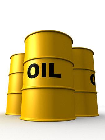 octane: oil barrels