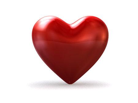 radiosity: big red heart