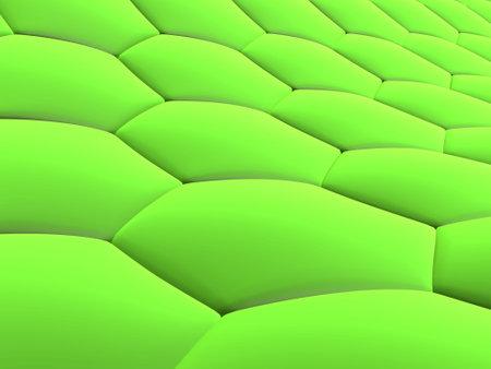 3d green cells photo