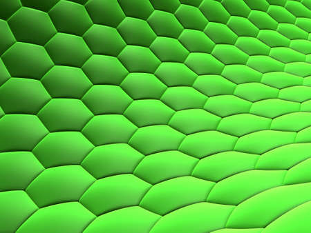 abstract green cellls photo