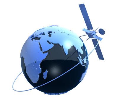 satelite: mundo y por sat�lite