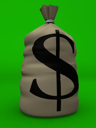 money sack Stock Photo - 2873232