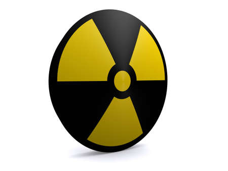 disastrous: radioactive sign