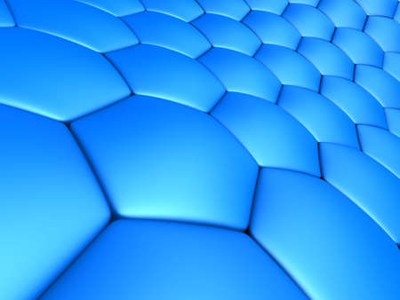 blue abstract cells Stock Photo - 2890976