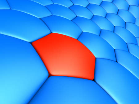 red cell Stock Photo - 2890959