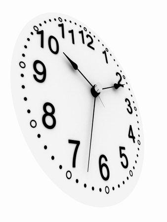 3d clock photo