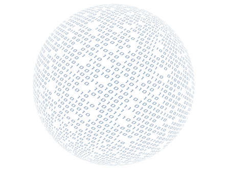 binary sphere Stock Photo - 2891078