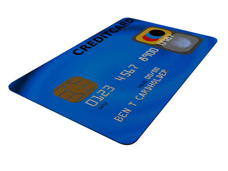 3d credit card Stock Photo - 2891031